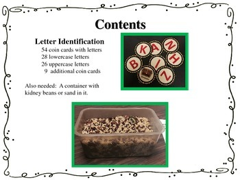 Digging for Letter Identification FREE