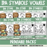 Digging for Phonetic Symbols® Vowels- Bundle