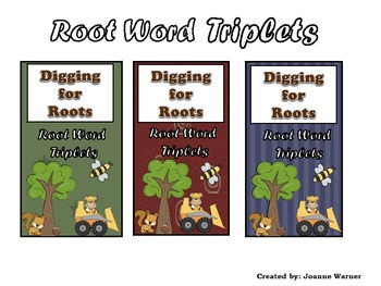 Digging for Roots - Root Word Triplets
