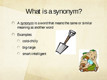 Digging for Synonyms and Antonyms