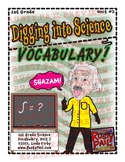 Digging into Science Vocabulary - 1st Grade Science – Unit 2