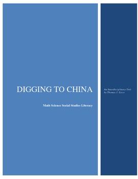 Digging to China - Interdisciplinary Lesson