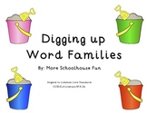 Digging up Word Families Activity- Common Core Aligned