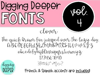 DiggingDeeperFONTS Volume Four