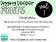 DiggingDeeperFONTS Volume One