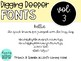 DiggingDeeperFONTS Volume Three