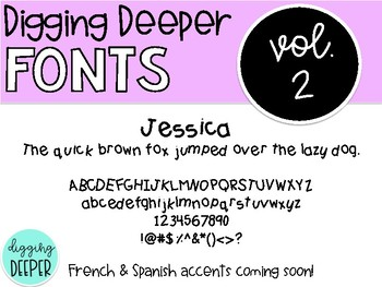 DiggingDeeperFONTS Volume Two