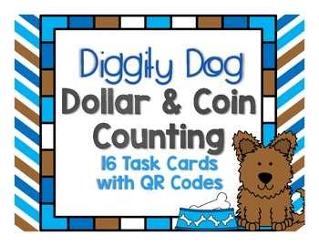 Diggity Dog Dollar and Coin Counting