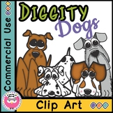 Diggity Dogs Clipart