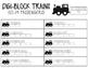 Digi Block Trains Cards (0-70)