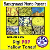 Art: Digi Yellow Photo Background Papers Commercial & Pers