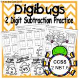DigiBugs 2 Digit Subtraction Practice
