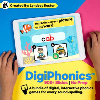 DigiPhonics™ - Digital Interactive Phonics Files