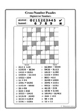 Digimirror Numbers (Cross-Number Puzzles)