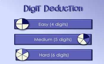 Digit Deduction Interactive Game