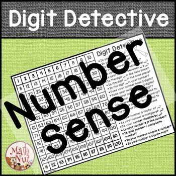 Math Center   Digit Detective