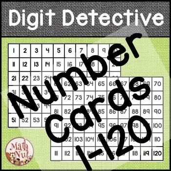 """Math Center """"Digit Detective"""" (Place Value)"""
