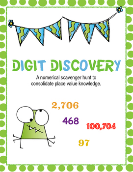 Digit Discovery - Number Scavenger Hunt
