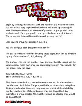 Digit Widgets (Divisibility)