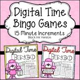 telling-time-within-15-minute-increments {Bingo Bundle Bla