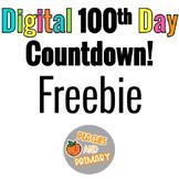 Digital 100th Day Countdown