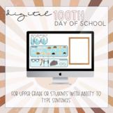 Digital 100th Day of School