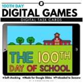 Digital 100th Day of School Activities and Games