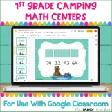 Digital 1st Grade Camping Math Centers for Use With Google