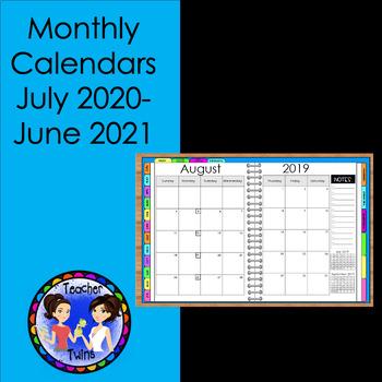Digital 2018-2019  Teacher Calendar for iPad and Android Tablets