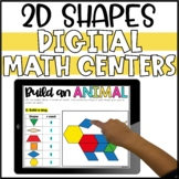Digital 2D Shapes Activities and Tangrams for Distance Learning - Google Slides