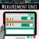 Digital 2nd Grade Measurement Unit  2.MD.A.1  2.MD.A.2  2.MD.A.3  2.MD.A.4