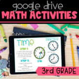 Digital 3rd Grade Math Activities with Google Slides   Dis