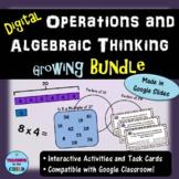 Digital 4th Grade Operations and Algebraic Thinking Bundle