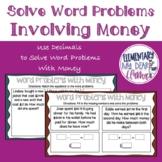 Digital 4th Grade Solve Word Problems Involving Money