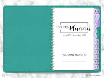 Digital 7 Subject Lesson Planner for GoodNotes 2018-2019