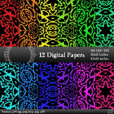 Digital Clipart Corner Collag Set Decorative Journal Scrap