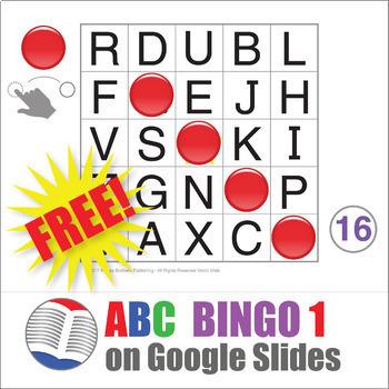 Digital ABC Bingo 1