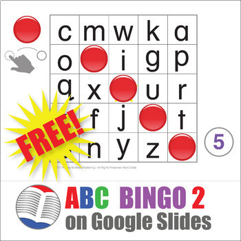 Digital ABC Bingo 2