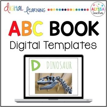 Digital ABC Book Template