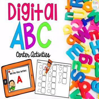 Digital ABC Center Activities