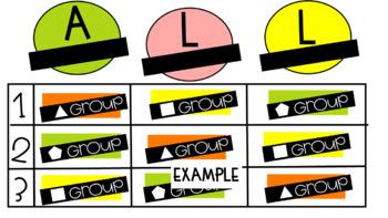 Digital ALL Block Rotation Slides (Citrus Colors)