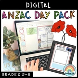 Digital ANZAC Day (Distance Learning Grade 5 & Grade 6)