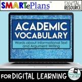 Digital Academic Vocabulary Volume 1: Informational Texts