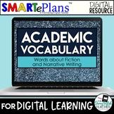 Digital Academic Vocabulary Volume 2: Fiction and Narrativ