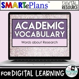 Digital Academic Vocabulary Volume 3: Words about Research