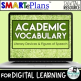 Digital Academic Vocabulary Volume 5: Literary Devices and