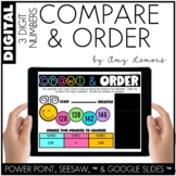 Digital Activities: Compare & Order 3 Digit Numbers (SEESA