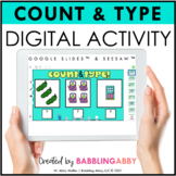 Digital Activities Counting Quantities Seesaw™ Google Slid