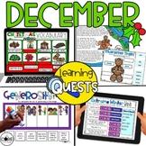 Digital Activities December: Christmas, Winter, Gingerbread Man, Generosity