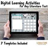 Digital Activities For Any ELA Text